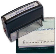 Pay To Line Stamp -- Self-Inking 102000