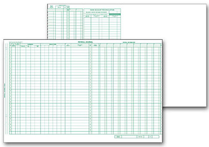 One Write Journal Sheet for TopWrite System