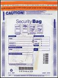 Single Pocket Money Handling Bag Clear Small 9 x 12 53849