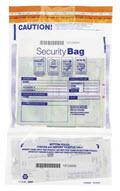 Clear Dual Pocket Deposit Bag