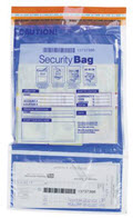 Dual Pocket Deposit Bag with Opaque Back