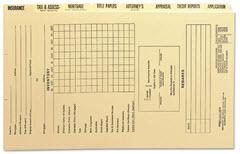 mortgage file folder