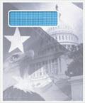 Patriotic Envelope Single Window