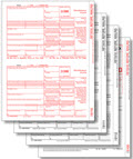 IRS Approved 1099-MISC 3-part Laser Tax Form