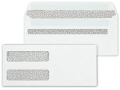double window self seal envelope 92551