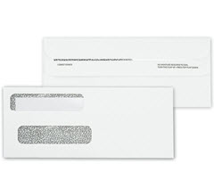 double window self seal envelope 92663