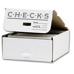 Check Storage Box