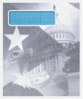 Patriotic Envelope with Window