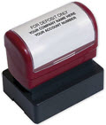Endorsement Stamp Pre Inked D2023B