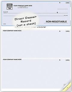 Laser Advice Of Direct Deposit 881069