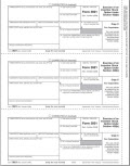 Exercise of Stocks Corporation Copy C Tax Form