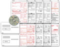 IRS Approved 1099-MISC 5-part Forms with Envelopes and Laser Link Software